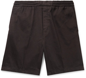 Acne Studios Garment-Dyed Cotton-Twill Shorts