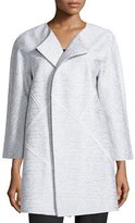 Lafayette 148 New York Anissa 3/4-Sleeve Topper Jacket