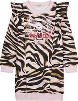 Kenzo Tiger cotton dress 4-16 years