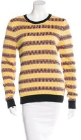 Jonathan Saunders Striped Knit Sweater