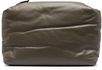 Kassl Editions Padded Canvas Clutch Bag