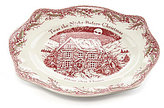 Johnson Bros. Twas the Night Bless This House Round Tray