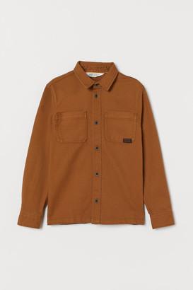 H&M Cotton utility shirt
