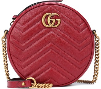 Gucci GG Marmont Mini leather crossbody bag