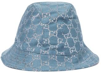 Gucci GG lame bucket hat