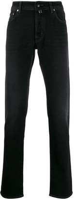 Jacob Cohen Straight-Leg Jeans With Pocket Square