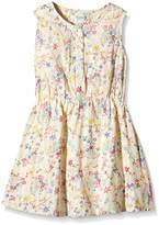 Yumi Girl's Confetti Floral Dress (Multi-Colour) Dress,(Manufacturer Size:11/12 Years)