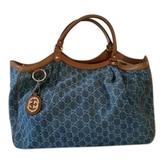 Gucci Sukey Monogrammed Tote Bag