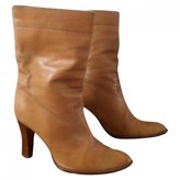 Givenchy Camel Leather Boots