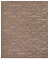 Jaipur City Area Rug - Tannin/Frosted Almond Spheres, 8' x 11'
