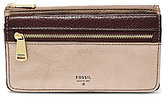 Fossil Preston Metallic Flap Wallet