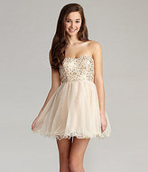Xtraordinary Strapless Sequin Party Dress