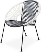 Mexa Ixtapa Lounge Chair, Gray/White