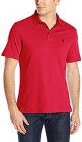 Izod Men's Solid Interlock Polo Shirt
