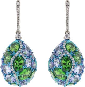 Arunashi Egg Drop Earrings