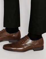 Asos Derby Shoes in Brown Patent
