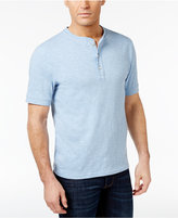 Club Room Men's Cotton Henley, Only at Macy's