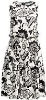 Ralph Lauren Woman Floral-Print Keyhole Dress