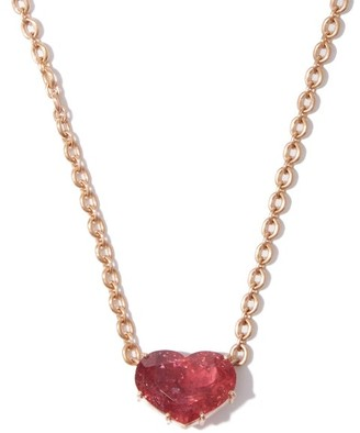 Irene Neuwirth Love Tourmaline & 18kt Gold Necklace - Rose Gold