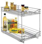 "Lynk Professional® Pull Out Double Drawer - 2 Tier Sliding Cabinet Organizer 14""w x 21""d"