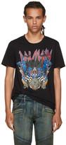 Balmain Black Logo Panther T-Shirt