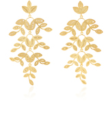 Mallarino Gabriella Leaf Earrings