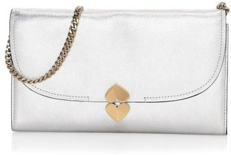 Kate Spade Lula Metallic Leather Clutch
