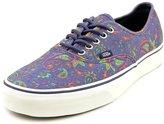 Vans Authentic (Paisley Medieval Blue) Men's Skate Shoe