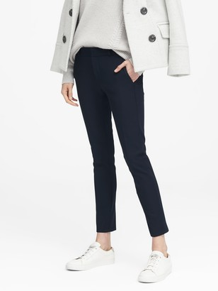 Banana Republic Avery Straight-Fit Bi-Stretch Ankle Pant