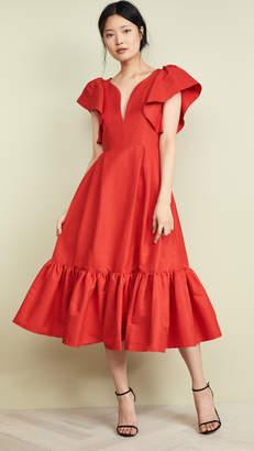 Marissa Webb Issa Faille Dress