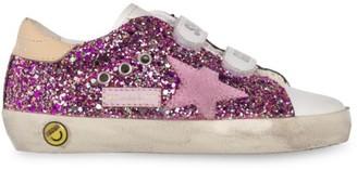 Golden Goose Baby's, Little Girl's & Girl's Glitter Leather Old School Sneakers
