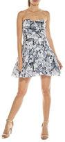 Tfnc Minnie Strapless Fit-And-Flare Dress