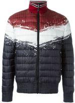 Just Cavalli colour block padded jacket