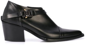 Alyx leather ankle boots