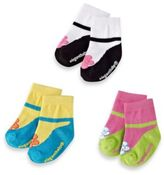 Elegant Baby Size 0-12M Ankle Janes (Set of 3)