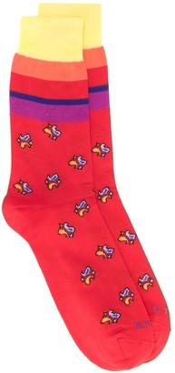 Etro Paisley Pattern Socks