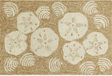 Liora Manné Front Porch Indoor/Outdoor Shell Toss Natural 2' x 3' Area Rug