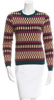 Kenzo Patterned Wool-Blend Sweater