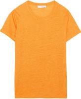IRO Luciana Linen-jersey T-shirt - Marigold
