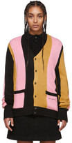 Noon Goons Black and Pink Striped The Droogs Cardigan