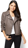 New York & Co. Textured Moto Jacket