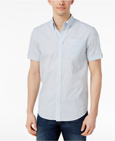 Ben Sherman Men's Basket-Weave Classic-Fit Button-Down Shirt