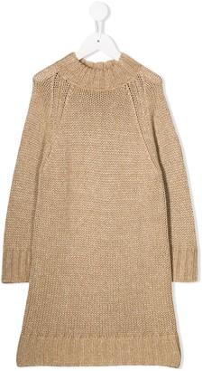 Il Gufo Knitted Jumper Dress