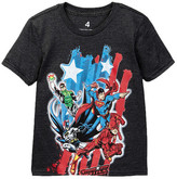 Dx-Xtreme Justice League Lazy Slant Tee (Little Boys)