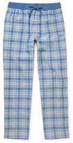 HUGO BOSS Checked Brushed Cotton-Twill Pyjama Trousers