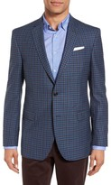 Ted Baker Men's Jay Trim Fit Check Wool Sport Coat