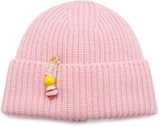 Federica Moretti Rib-Knit Wool Beanie