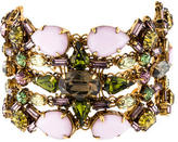 Erickson Beamon Wide Crystal Cuff