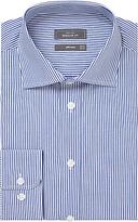 John Lewis Bengal Stripe Regular Fit Shirt, Navy