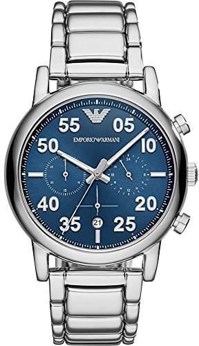 Emporio Armani Men's 'Chronograph' Quartz Stainless Steel Casual Watch